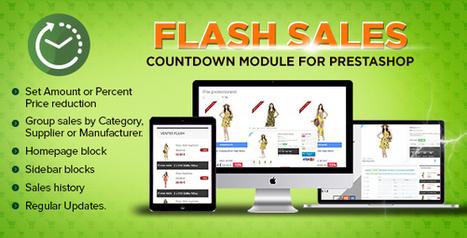 Prestashop Flash sales module - Countdown specials   Prestashop modules   Scoop.it