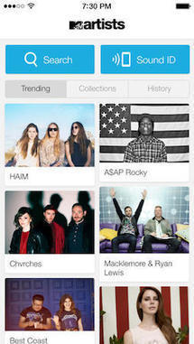 MTV Artists iPhone app wants to help you discover new music ... | azert | Scoop.it