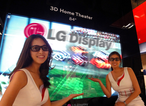 LG Display Zeroing in on 3D UHD TV Market | Ultra High Definition Television (UHDTV) | Scoop.it