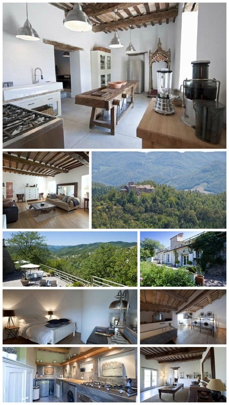 Le Marche Accommodation: L'Abbazia, Luxury Holiday near Tuscany & Umbria | scatol8® | Scoop.it