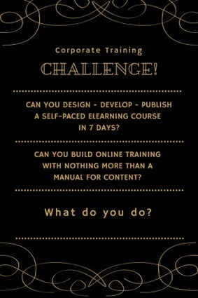 Corporate Training Challenge – Design Compliance Training in 1 Week | Learning & Performance | Scoop.it