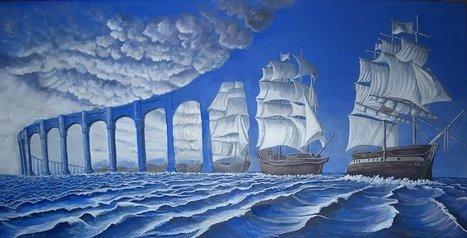 Las estupendas obras de este artista combinan arte e ilusiones ópticas | Searching & sharing | Scoop.it