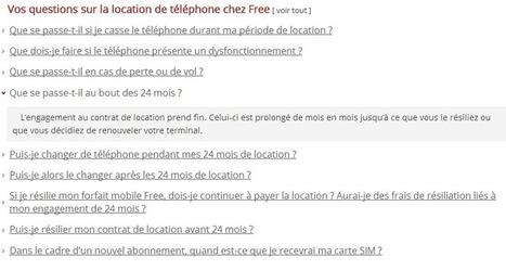 Que devient l'offre de location au bout de 24 mois? La FAQ Free Mobile donne des précisions | Free et la 4G | Scoop.it