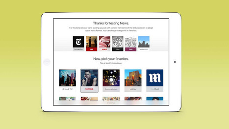 Apple's News app now has more than 50 publishing partners | iPhones and iThings | Scoop.it