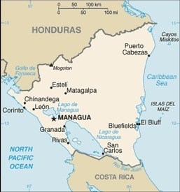 Map of Country | Nicaragua, Kaitlyn Mayberry | Scoop.it