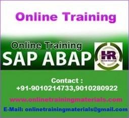 SAP ABAP HR online training institute in Ameerpet, SAP ABAP HR Online Training Institute from Hyderabad India.   Online Training Materials   Online Training   Scoop.it