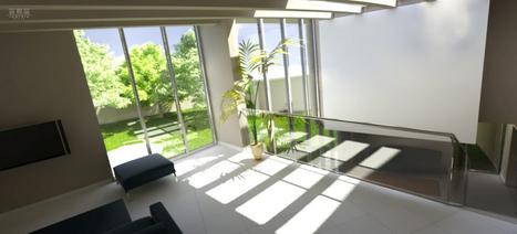 SENEGAL. Saly villa bengeloune par lamtôro architecture   Archicaine   Sélection de projets   Scoop.it