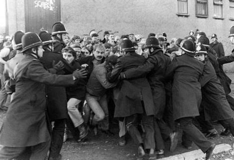 Twitter / hellohistoria: Police and Pickets at Nantgarw ... | History | Scoop.it