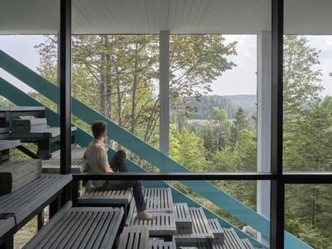 Entrecroisement de gradins pour une maison sensorielle | Construire sa maison avec un architecte | Scoop.it