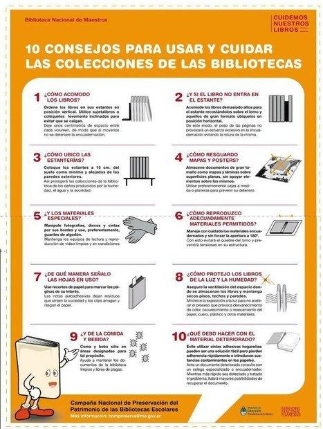 10 consejos para usar y cuidar las colecciones de las bibliotecas ...   Lectura, TIC y Bibliotecas   Scoop.it