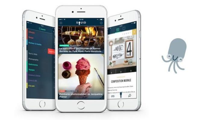 Squid, l'application pour suivre l'actualité qui t'intéresse - Geek Junior - | TIC et TICE mais... en français | Scoop.it