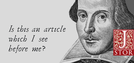 Understanding Shakespeare | Edumathingy | Scoop.it