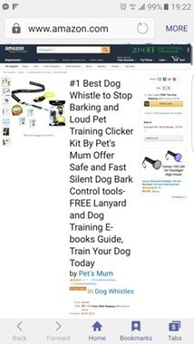 Dog Whistle and Pet Clicker to Stop Dog Barking Includes Bonus Dog Training E-Books by Pet's Mum Has Received #1 Best Seller Badge from Amazon   Social Bookmarking Links 101   Scoop.it