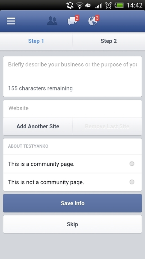 Can You Create A Facebook Page Via Its Mobile Apps? | Digital-News on Scoop.it today | Scoop.it