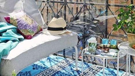 Petite terrasse bien aménagée, déco au top | Merveill'home | Scoop.it
