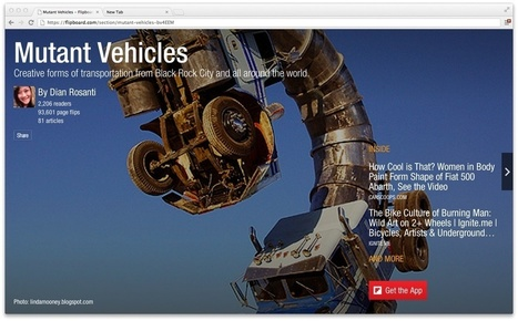 So much for mobile only: Flipboard heads to the desktop | Tools You Can Use | Scoop.it