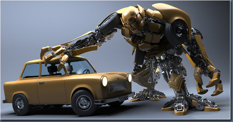// MAKING OF 'ROBOT IN DISGUISE' //   Infographie 3D   Scoop.it