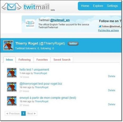 Envoyer un twitt à partir de son compte mail | Time to Learn | Scoop.it
