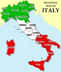 Quick Guide to Italy's Regions | Year 11 Catering | Scoop.it