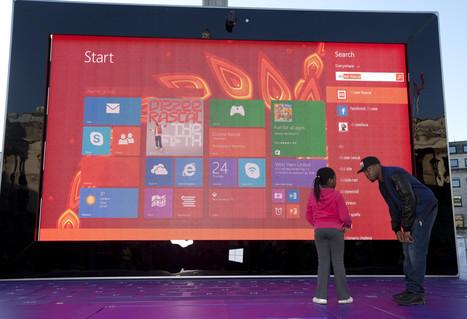 Microsoft voit les choses en grand, très grand ! - | Vincent Castelo | Scoop.it