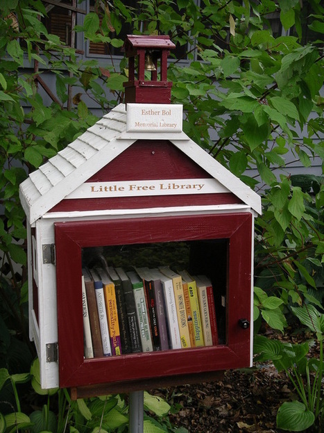 Little Free Library, Worldwide Effort to Build Tiny Community Libraries | AtoZ | Scoop.it