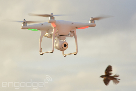 DJI's Phantom 2 Vision takes a stabilized camera to the sky, we go hands-on (video) | Heron | Scoop.it