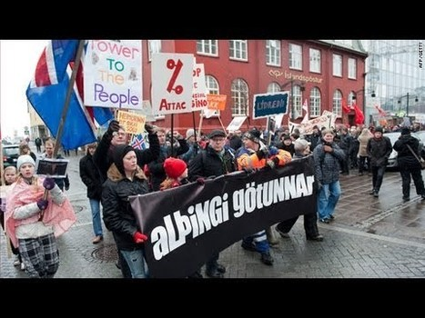 Iceland's Economy now growing faster than the U.S. and EU after arresting corrupt bankers | Money News | Scoop.it