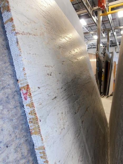 Brush finished marble slabs with Breton Smart-Cut 550 bridge saw ... | Smart-Cut 550 Optima | Scoop.it