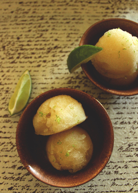 Moscow Mule Sorbet | The Man With The Golden Tongs Hands Are In The Oven | Scoop.it