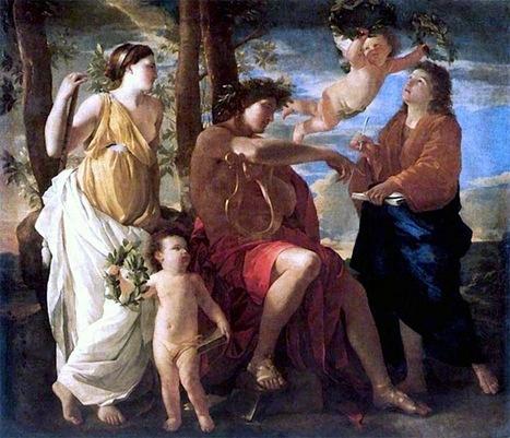 L'Inspiration du poète   Musée du Louvre   Paris   Histoire des arts à Orlinde   Scoop.it