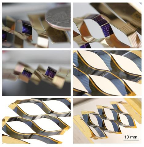 Kirigami Helps Solar Cells Track the Sun | Farming, Forests, Water, Fishing and Environment | Scoop.it