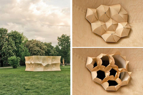 Researchers Create Stunning 3D Printed, Programmable, Bio-Inspired Architectural Materials | Creativity | Scoop.it