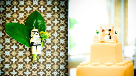 This is Every Lego Lover's Dream Wedding   Lego is not a game... not only   Scoop.it
