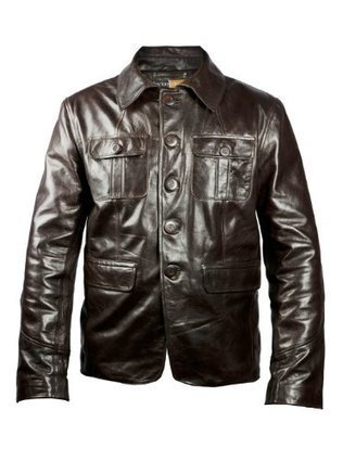 ***   FactoryExtreme Suburban Leap Dark Mens Brown Leather Blazer, Dark Brown – Extra Large FactoryExtreme Dark Brown | Discount Sports Coats | Scoop.it