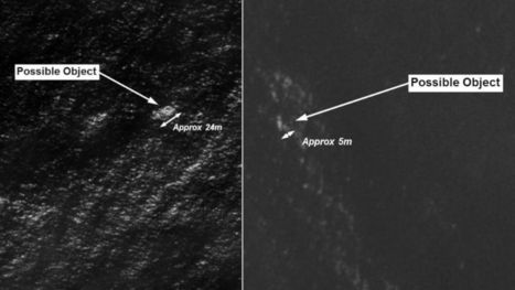 Satellite Images Show Possible Objects in Indian Ocean - ABC News | News | Scoop.it