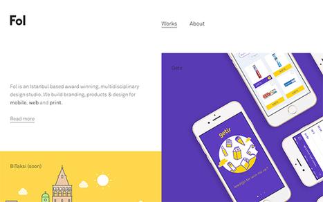 [#Inspiration] Inspiring Sites of the Week No. 121 | Web design | Scoop.it