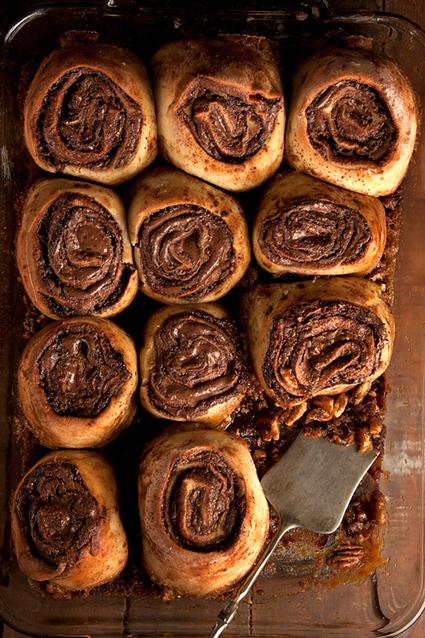 Nutella Buns Recipe - Saveur.com | On the Plate | Scoop.it