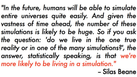 Good point... | Simulated Reality | Scoop.it