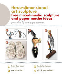 Three-Dimensional Art Sculpture   Creative Textile Arts   For Fabric Lovers   Scoop.it