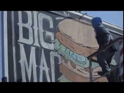 "McDonald's : des ""billboards-ardoises"" géants, dessinés à la main ! | LLLLITL | Innovative Street Marketing | Scoop.it"