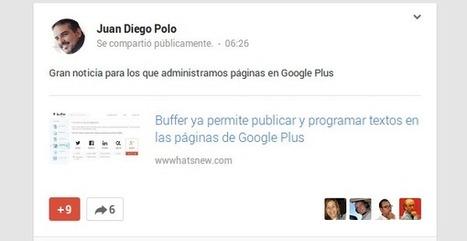 10 consejos para usar Google Plus y sus páginas de empresa | SocialMediaLand | Scoop.it