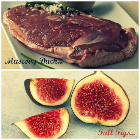 Beautiful Pairings: A Delicious Duck Breast Recipe With Wine And Figs | comida | Scoop.it