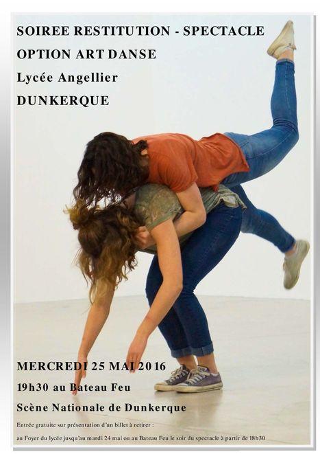 Spectacle Art Danse | Vie culturelle du lycée Angellier Dunkerque | Scoop.it