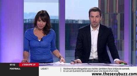 Julie Raynaud pointe des seins dans 'L'équipe du matin' - photo | Radio Planète-Eléa | Scoop.it