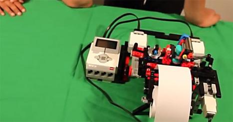 Une imprimante Braille en LEGO, par un enfant de 12 ans | Libertés Numériques | Scoop.it