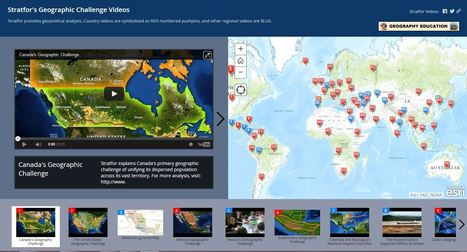 Stratfor's Geographic Challenge Video Series | Geography Education | Scoop.it
