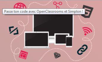Passe ton code avec OpenClassrooms et Simplon ! | Ouvrez les yeux ! | Scoop.it