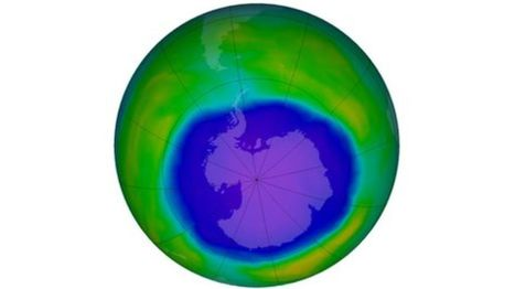 "'Healing' detected in Antarctic ozone hole - BBC News (""still bad but actions taken are correct"") 