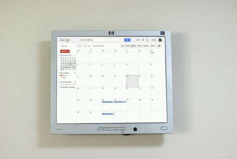 Raspberry Pi Wall Mounted Google Calendar | Differentiation Strategies | Scoop.it
