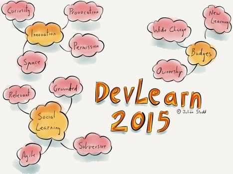 Reflections from DevLearn 2015: Innovation, Badges and Social   Aprendizaje y Cambio   Scoop.it